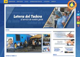 Loteriadeltachira.com.ve thumbnail