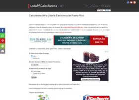 Lotoprcalculadora.com thumbnail