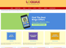 Lottery.loquax.co.uk thumbnail