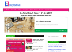 Lotteryresulttoday.com thumbnail