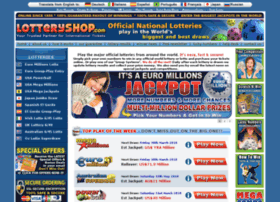 Lotteryshop.com thumbnail