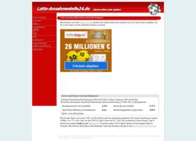 Lotto-annahmestelle24.de thumbnail