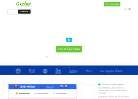 Lottogopher.com thumbnail