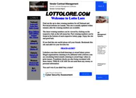 Lottolore.com thumbnail