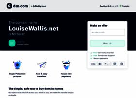 Louisewallis.net thumbnail