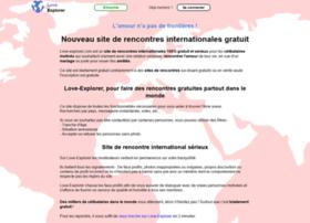 sites rencontres internationales gratuites)