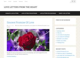 Lovelettersfromheart.com thumbnail