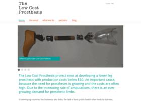 Lowcostprosthesis.org thumbnail