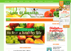 Lowgihealth.com.au thumbnail