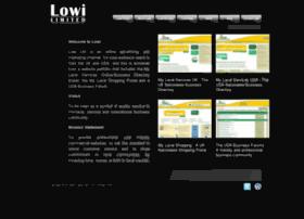 Lowigroup.co.uk thumbnail