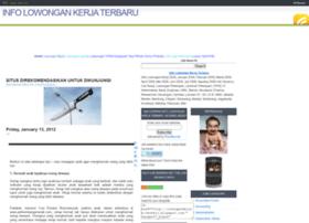 Lowongankerjas-terbaru.blogspot.com thumbnail
