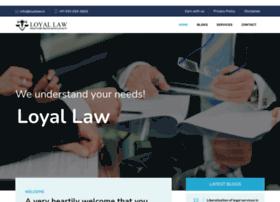 Loyallaw.in thumbnail
