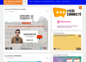Lpjeandarcet.fr thumbnail
