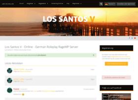 lsv-online com at WI  Los Santos V - Online - German