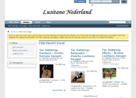 Lusitano-nederland.nl thumbnail
