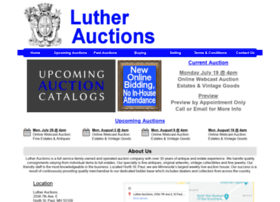 Lutherauctions.com thumbnail