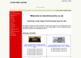 Lutonhirecentre.co.uk thumbnail