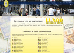 Luxor-exchange.ro thumbnail