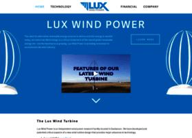 Luxwindpower.com thumbnail