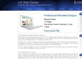 Lwwebdesign.co.uk thumbnail