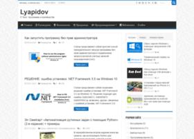 Lyapidov.ru thumbnail