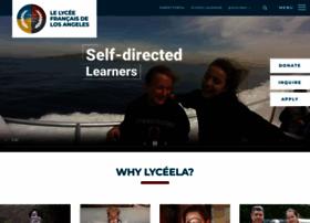 Lyceela.org thumbnail