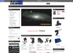 Lyra-optics.si thumbnail
