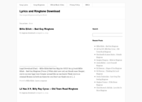Lyrics-ringtone-download.com thumbnail