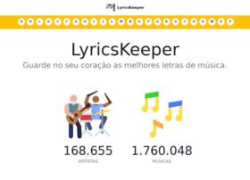 Lyricskeeper.com.br thumbnail