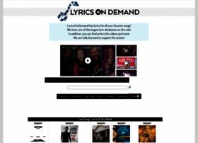 Lyricsondemand.com thumbnail