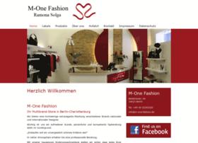 M-one-fashion.de thumbnail