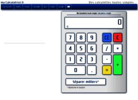 Ma-calculatrice.fr thumbnail