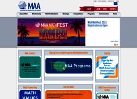 Maa.org thumbnail