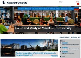 Maastrichtuniversity.nl thumbnail