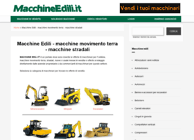 Macchineedili.it thumbnail