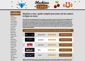 Machinesasous.info thumbnail