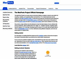 Macports.org thumbnail