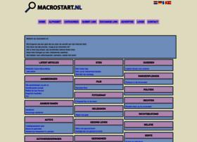 Macrostart.nl thumbnail