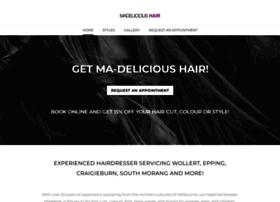 Madelicioushair.com.au thumbnail