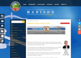 Madisoncountycircuitclerkil.org thumbnail