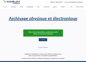 Maeum-numerique.fr thumbnail