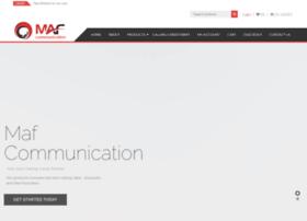 Mafcommunication.co.uk thumbnail