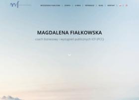 Magdalenafialkowska.pl thumbnail