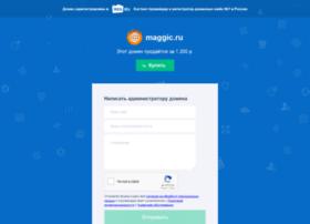 Maggic.ru thumbnail