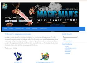 Magicmanswholesale.com thumbnail