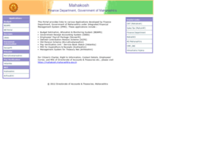 Mahakosh.gov.in thumbnail