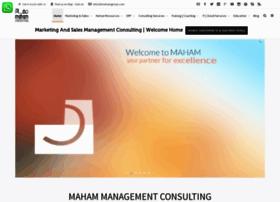 Mahamconsultants.com thumbnail