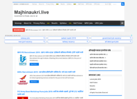 Mahanaukri.co.in thumbnail