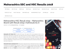 Maharashtrahscresult2018.in thumbnail