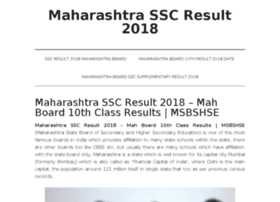 Maharashtrasscresults2017.in thumbnail